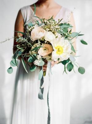 Boeket voor Engagedevent15 door MK floral design